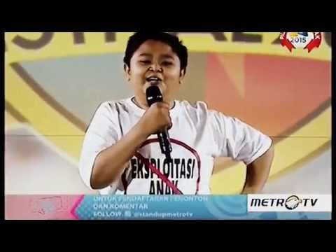 Stand Up Comedy Festival 2015 - Ipin Semarang 'Anak Kecil'
