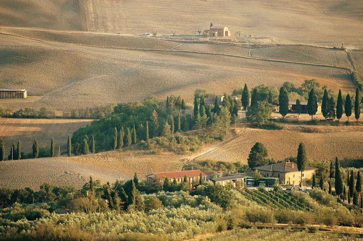 A toszkán tájakat szívesen látogatják a turisták