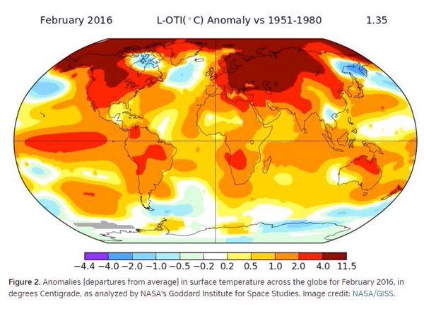February was the hottest month on record. Are we losing the fight against #climatechange?