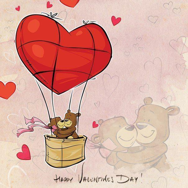 Рисунки и картинки ко дню святого валентина