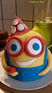 Minion Torte