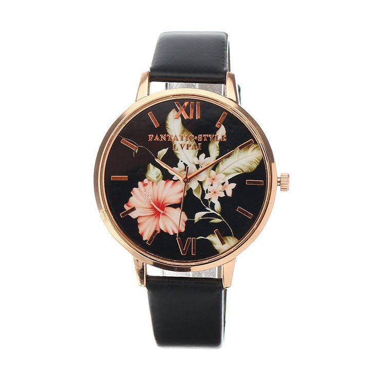 LVPAI Women's Watch Retro Leaves Flower Elegant Watch  #women #men #fashion #jewelry #watches