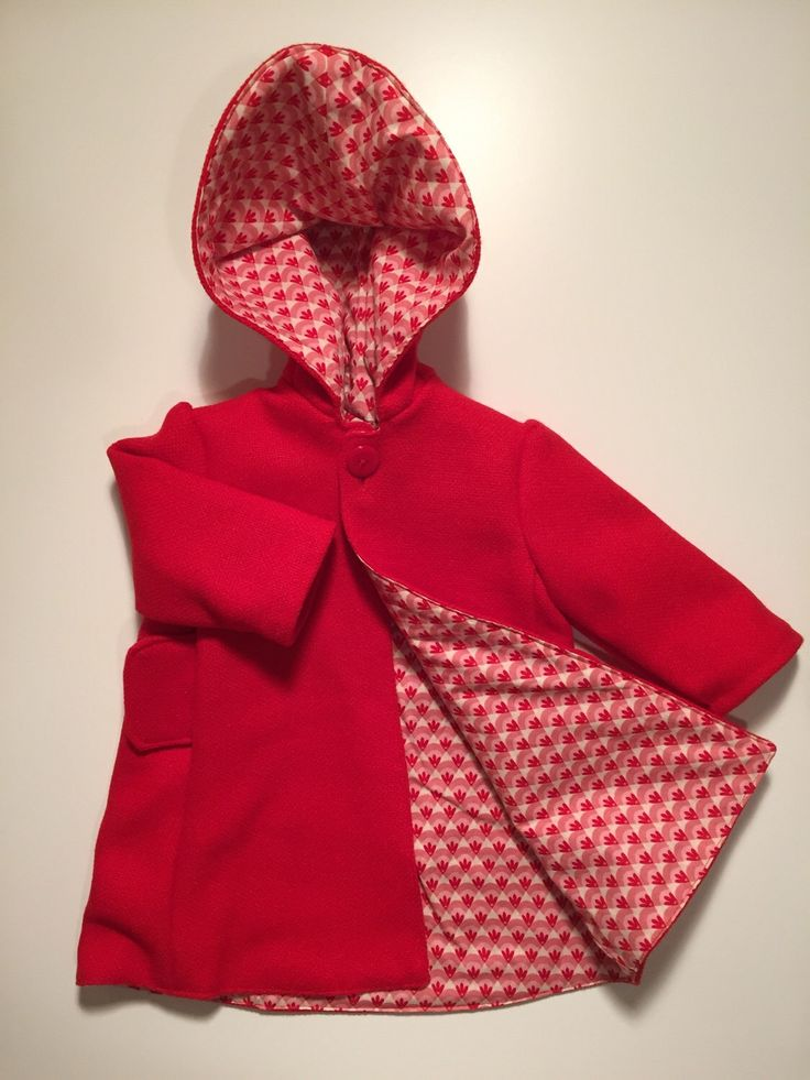 Pure wool coat with pointy hood 12-18 mth  by ookeyoriginals on Etsy https://www.etsy.com/listing/278686862/pure-wool-coat-with-pointy-hood-12-18