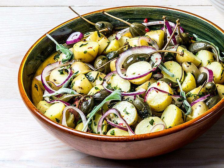 Dagens - Gresk potetsalat - Godt.no - Finn noe godt å spise