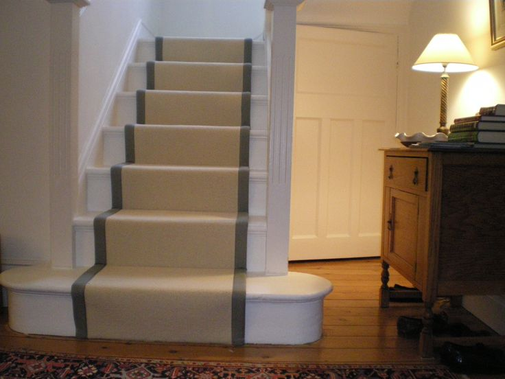 Wooden Stairs Design With Runner Bespoke Stair Runners