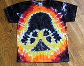 Darth Vader Star Wars Tie Dye T-shirt - Custom Adult Size S, M, L, XL, 2XL - Order in your size