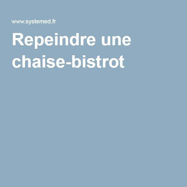 151 best TOUT REPARER images on Pinterest Everything, Vacuum - comment peindre une chaise