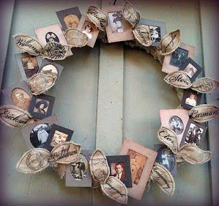 Wreath Family Tree