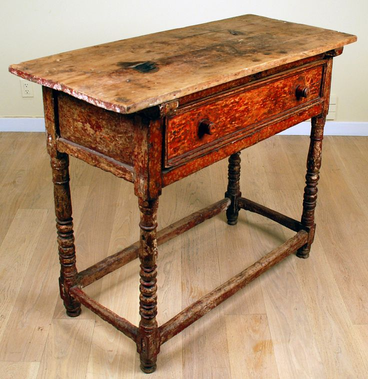 18th century spanish colonial table colonial furniture tables desks and beds pinterest. Black Bedroom Furniture Sets. Home Design Ideas