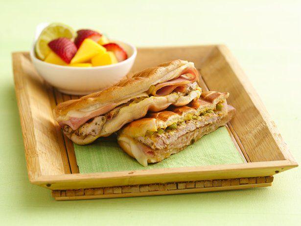 Grilled Cuban Pork Pressed Sandwiches http://www.bettycrocker.com ...