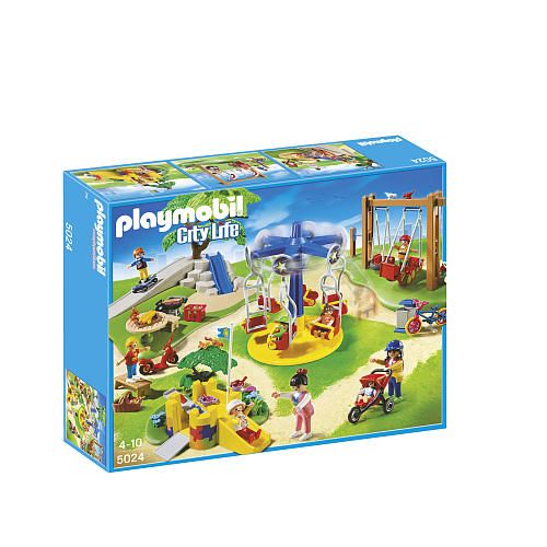 playmobil city life children 39 s playground playmobil toys r us playmobil pinterest. Black Bedroom Furniture Sets. Home Design Ideas