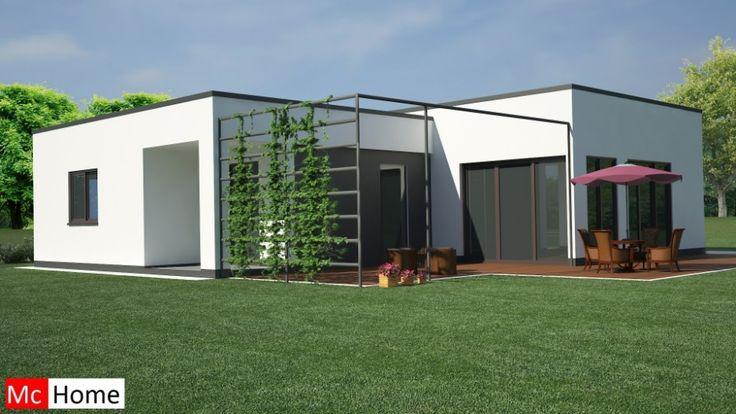 Mc-Home.nl B3 levensloopbestendige gelijkvloerse energieneutrale bungalow ontwerpen en bouwen in staalframebouw