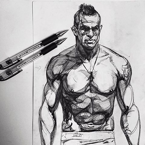 """FAN-MADE DRAWING of Vitor """"The Phenom"""" Belfort : if you love #MMA, you'll love the #UFC & #MixedMartialArts inspired fashion at CageCult: http://cagecult.com/mma"""