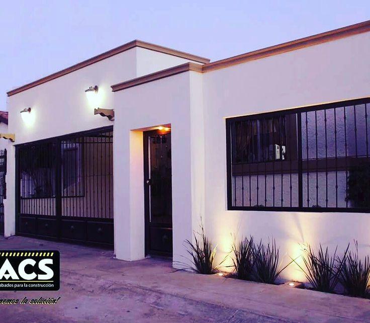 Remodelaci n de fachada en colonia bugambilias for Fachadas de casas modernas en hermosillo