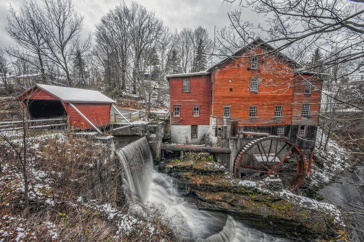 1820's Mill by Louis Quattrini