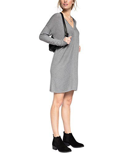 edc by ESPRIT Damen Jumper Kleid 085CC1E010, Midi, Gr. 38, Grau (GREY 030) http://www.damenfashion.net/shop/edc-by-esprit-damen-jumper-kleid-085cc1e010-midi-gr-38-grau-grey-030/
