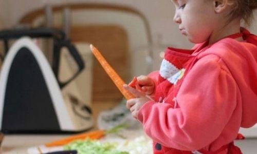 Çocuklarla yemek yapmak bir aktiviteden daha fazlası