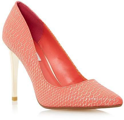 Womens coral court shoe from Dune - £79 at ClothingByColour.com
