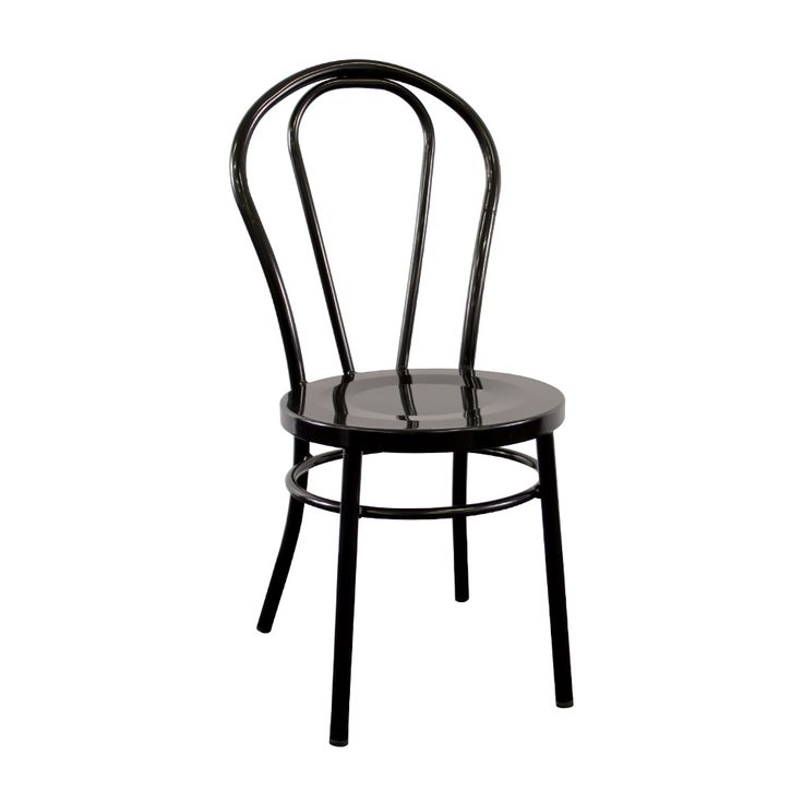 Cabaret Chair in Gloss Black