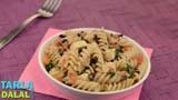 Pasta Salad with Basil Vinaigrette Video by Tarla Dalal's Team | Recipe Videos | Indian and International Cooking Videos | Tarladalal.com
