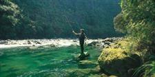River on the #TreetopsLodge Estate #Rotorua #NewZealand #Flyfishing