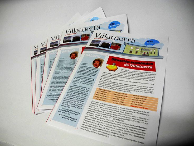 Boletín informativo municipal de Villatuerta - Calle Mayor Comunicación y Publicidad