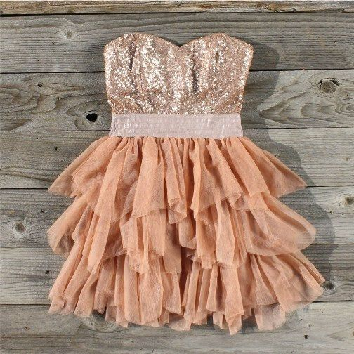 Ruffles and rust party dress: Party Dresses, Fashion, Style, Dream Closet, Cute Dresses, Clothes, Outfit, Dreamcloset, Sparkle