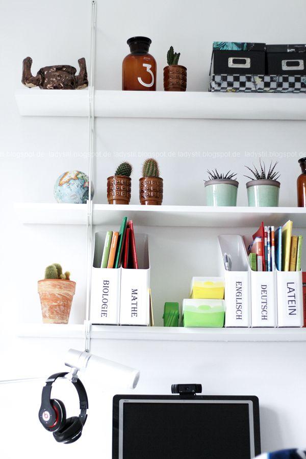 Cute die f nf wichtigsten Tipps f r mehr Ordnung am Arbeitsplatz Jugendzimmer Schreibtisch w chentliche und monatliche