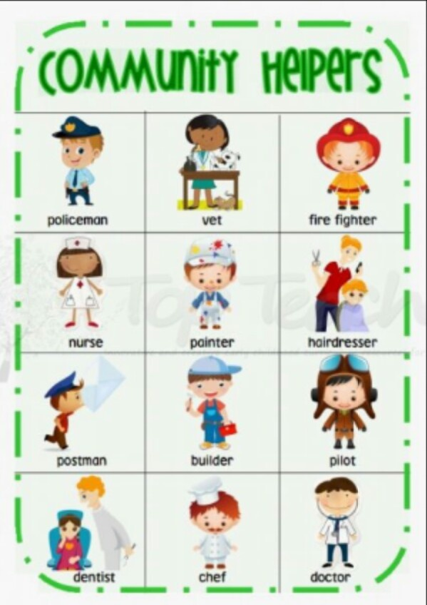 Worksheets About Community Printable