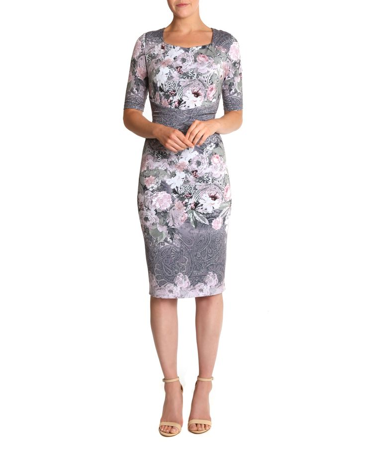 Anthea Crawford Secret Garden Jersey Dress