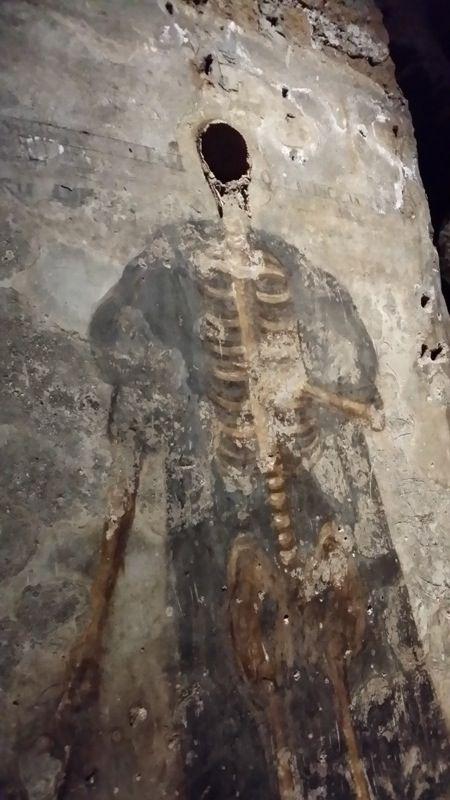 Il Giudice Diego - Catacombe di San Gaudioso #rionesanità #napoli #catacombenapoli