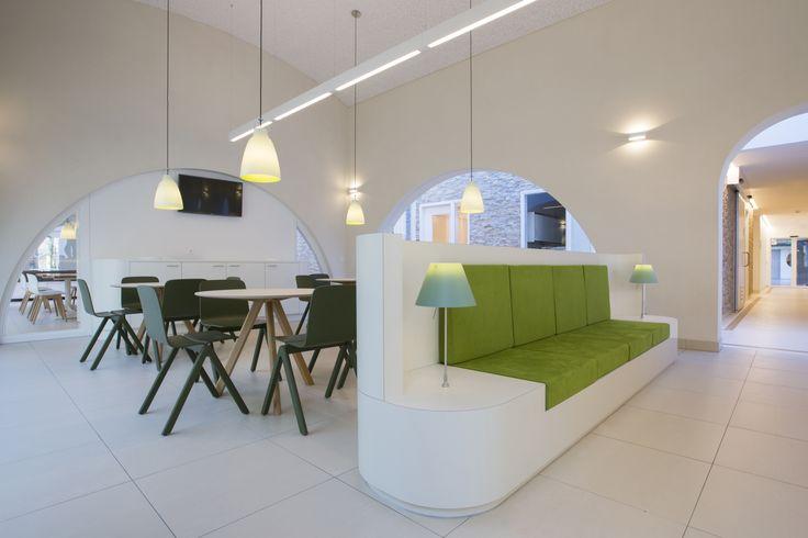 Hospital Interior Design Wating Area And General With Arcades Psychiatry Unit Radboudumc