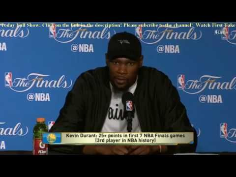 Kevin Durant & Draymond Green Postgame News Conference| NBA Finals Game 2 Warriors def Cavs 132-113 - YouTube