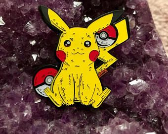 Pikachu hat pin