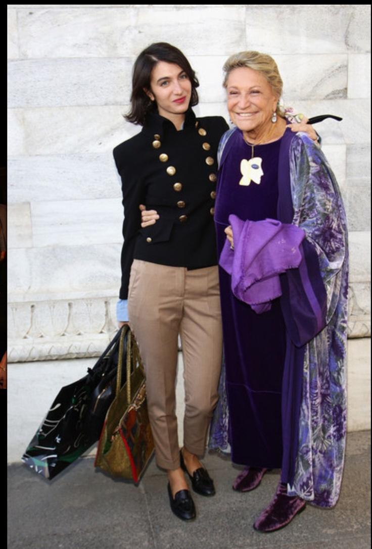 Marta Ferri e Marta Marzotto..