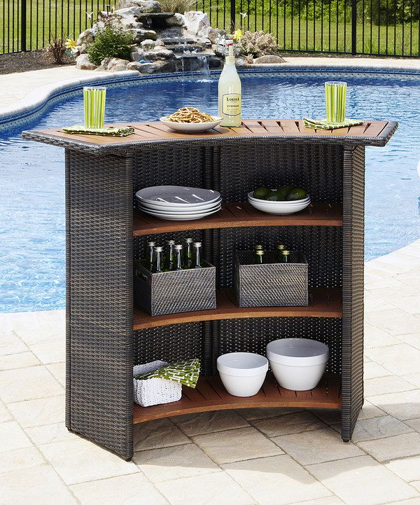 Look at this Riviera Outdoor Bar on #zulily today!