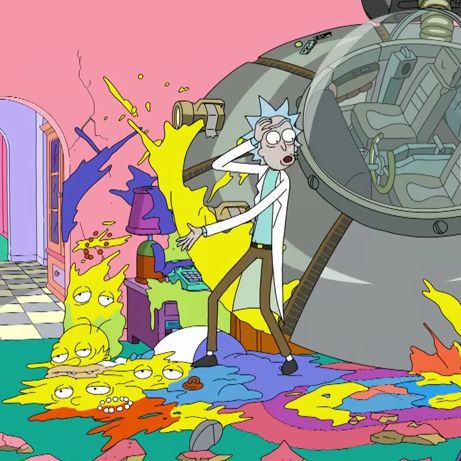 Watch Rick and Morty kill The Simpsons