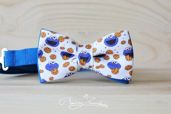 Cookie Monster Bowtie Bowties Bows Bow Ties Bowties Bow