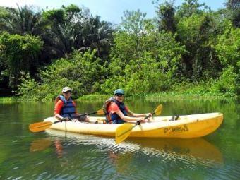 Kayaking the Panama Canal