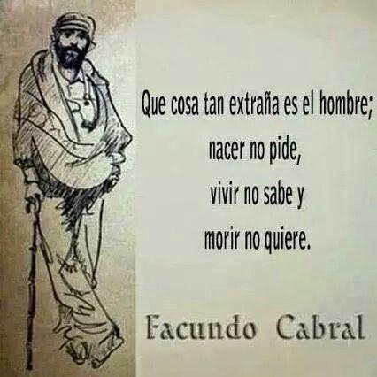 Facundo Cabral's quotes