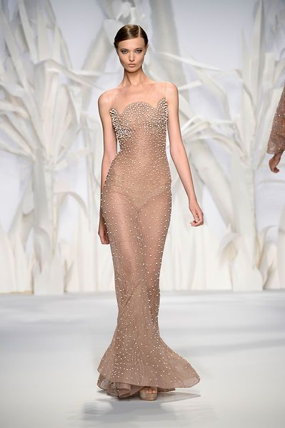 Abed mahfouz couture fall winter 2013 2014 gorgeous for Haute couture seamstress