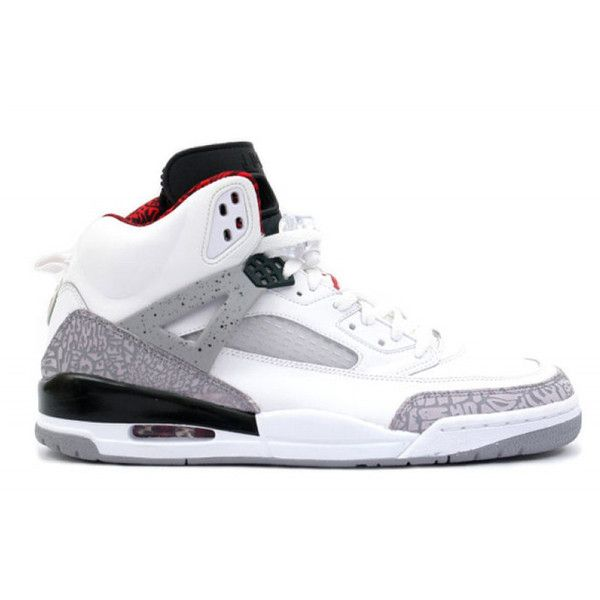 Nike Air Jordan Spizike ($575) ❤ liked on Polyvore featuring men's fashion,  men