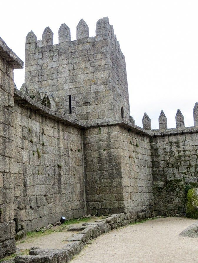 Views of Guimaraes in Northern Portugal.