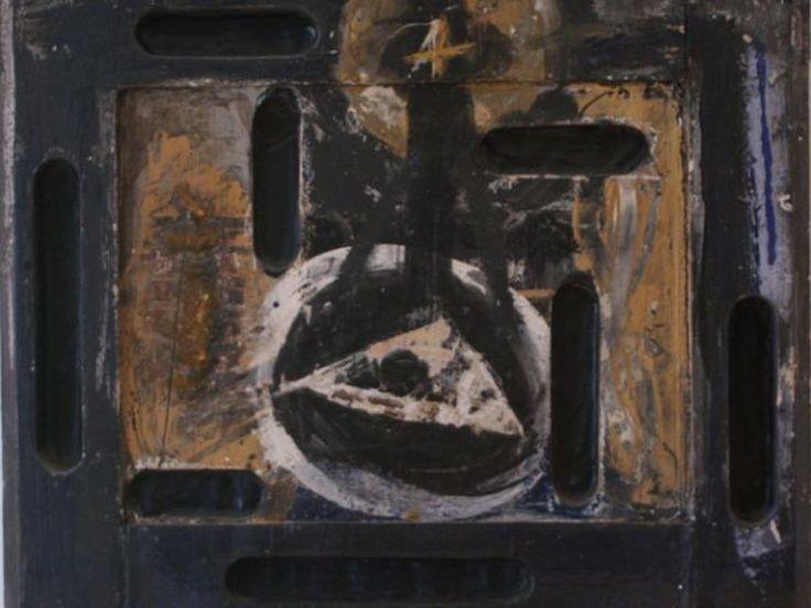 Bruno Ceccobelli, Prometeo Tecnica mista su carta, 16 x 22 cm