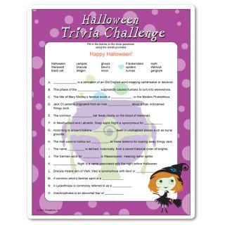 halloween pub quiz team names