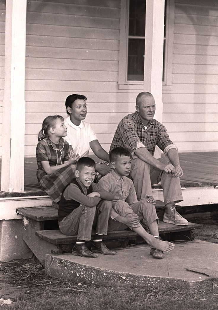 The Loving family. Just 45 years ago, 16 states deemed marriages between two people of different races illegal. But in 1967, the U.S. Supreme Court considered the case of Richard Perry Loving, who was white, and his wife, Mildred Loving, of African American and Native American descent. The case changed history.