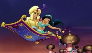 On Aladdin's magic carpet ride they visit the Sphinx in Giza, China, and the Parthenon in Athens. In order to do this they would have to travel faster than the speed of sound while still managing to stay on the carpet. https://www.quora.com/What-time-period-is-Aladdin-the-movie-set-in   A more realistic interpretation would maybe have them going to more local places or maybe a magic device that can transport them to various places.