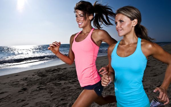 Bikini Body MAX BURN! 20 jumping jacks, 10 burpees, 20 lunges, 5 minute jog, 10 push-ups, 10 dips, 20 lunges, 5 minute jog, 20 second plank on hands, 20 tummy tucks, 5 minute jog, 20 bicycle crunches