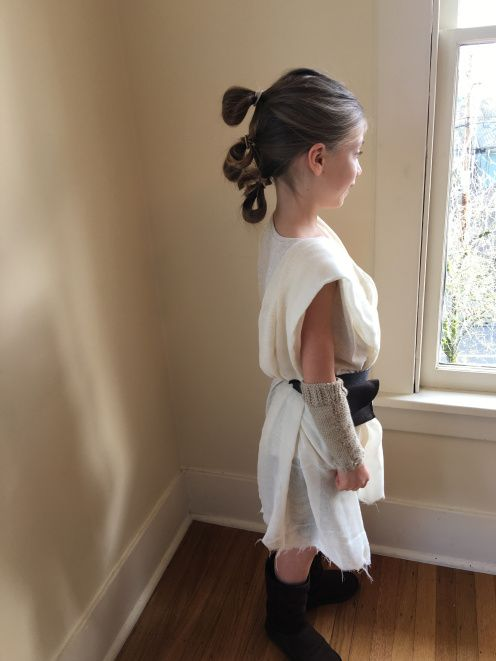 Easy 30 Minute Rey Costume