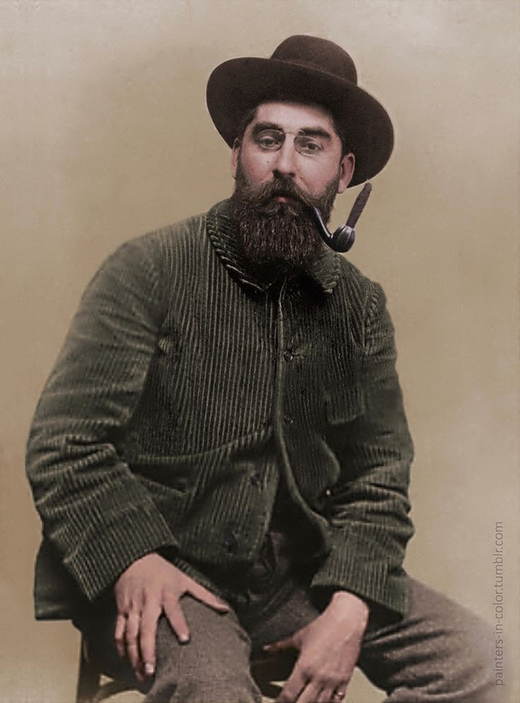 Ramón Casas (1866-1932) - Catalan/Spanish painter, excellent draughtsman and illustrator..